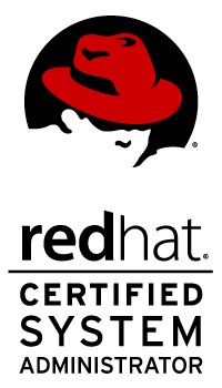 Red Hat Certified System Administrator logo